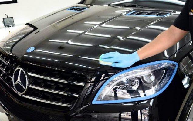 Detailing mobil cara coating mobil sendiri Bagaimana Cara Coating Mobil Sendiri? Apakah Hasilnya Sama dengan Salon Mobil? Detailing mobil 636x400