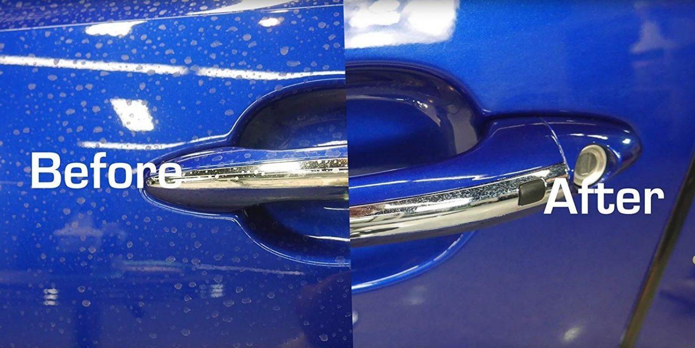 car Spot Remover cara menghilangkan water spot di kaca mobil 4 Cara Menghilangkan Water Spot di Kaca Mobil Paling Mudah car Spot Remover 1400x701
